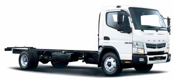 The FUSO Canter LIFT FE 8-150TF AMT