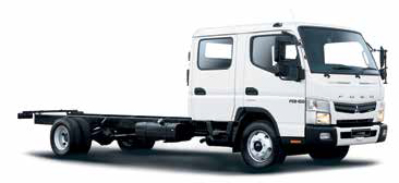 The FUSO Canter LIFT FE 8-150TF AMT DC